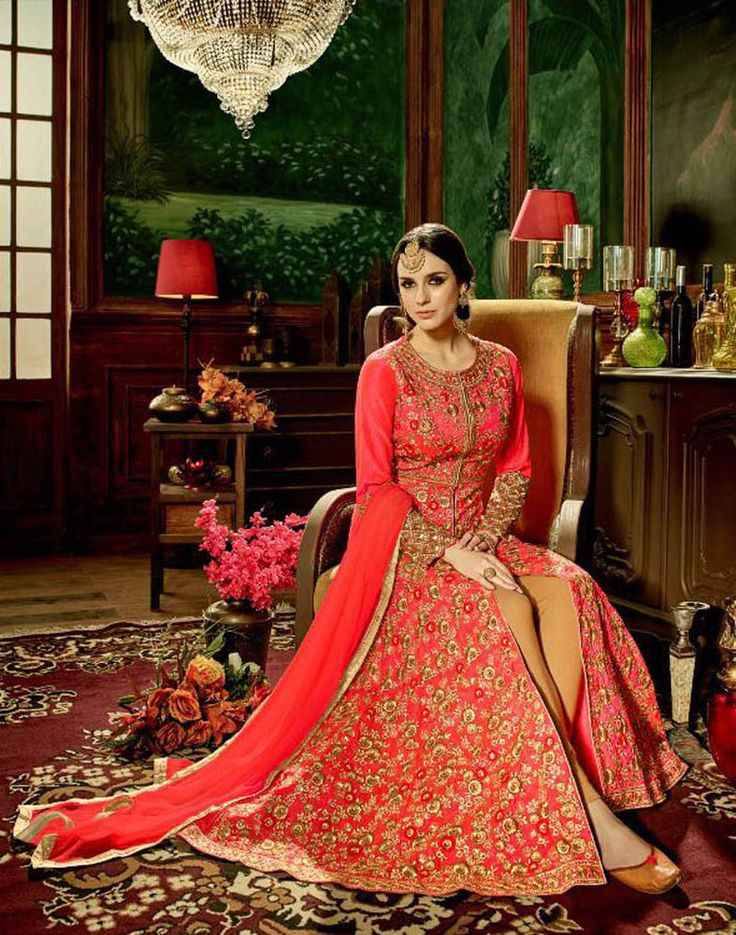 INDIAN ETHNIC PARTYWEAR LATEST DESIGNER SALWAR KAMEEZ LONG SALWAR SUIT DRESS #Handmade #Salwarkameez