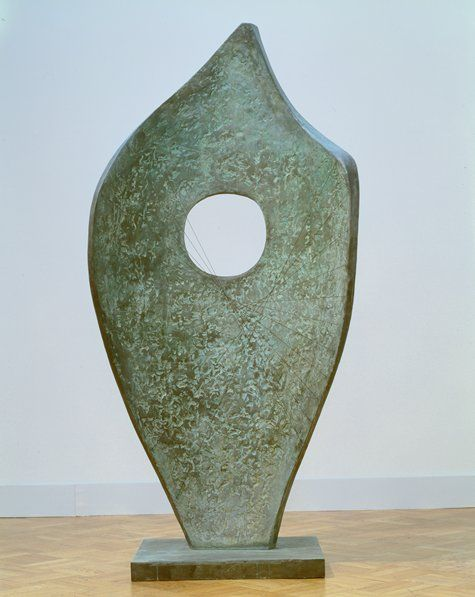 Barbara Hepworth / Curved Form (Bryher II) / 1961 / Sculpture | bronze