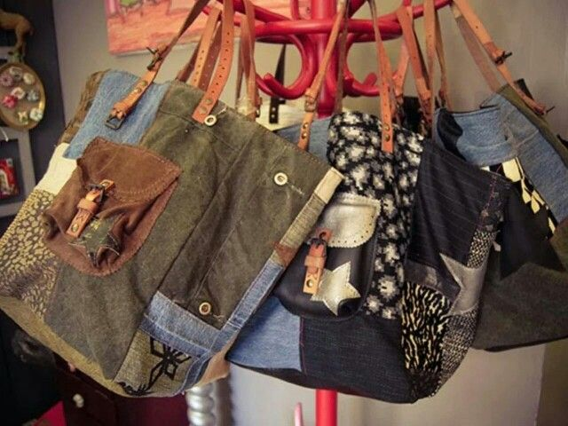 Pomponette bag I like the rest of the bags on this page. Good ideas.