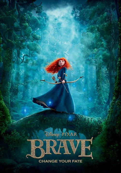 Merida. My favourite Disney's princess :D