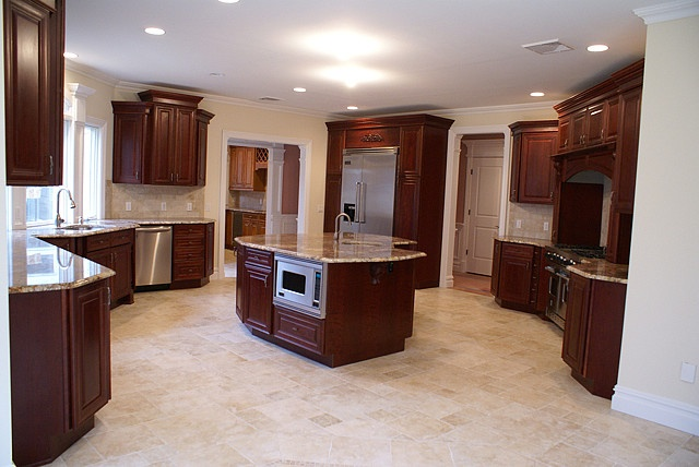 1000 Images About Kitchen Remodel With Cherry Cabinets On