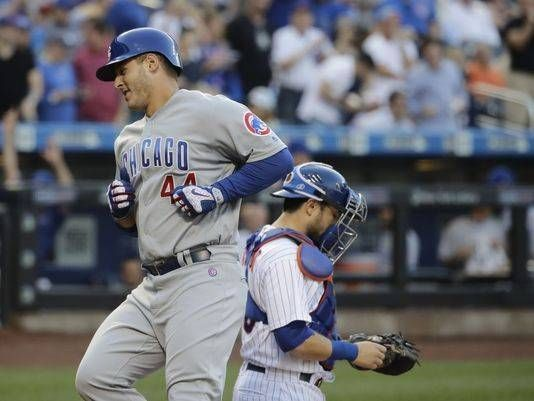Rizzo hits another leadoff homer for Cubs