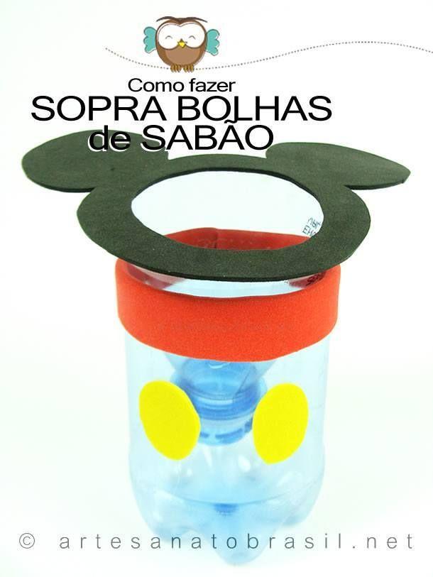 Big-Bolhas-Caseiro-Como-fazer-bolhas-de-sabao: http://artesanatobrasil.net/sopra-bolhas-de-sabao/