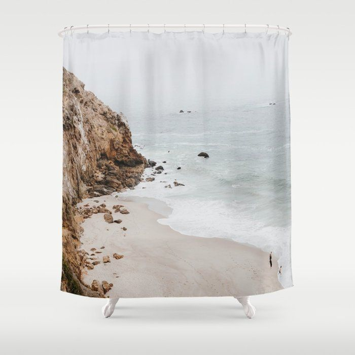 22ccc8f0a9c86 Buy malibu coast / california Shower Curtain by mauikauai. Worldwide ...