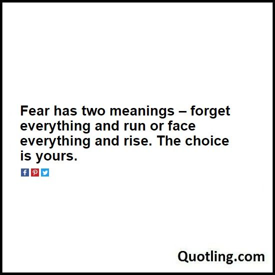 The 25+ best Fear has two meanings ideas on Pinterest
