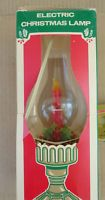 "12"" Vintage Beacon Electric Non-Flickering Candle Lamp Light hurricane christmas"