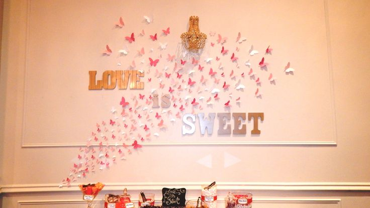 cathy lawrence pink and gold wedding shower candy bar candy buffet