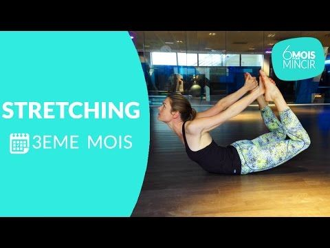 Visionnez l'intégralité de la vidéo : http://videos.doctissimo.fr/forme/sport-pour-maigrir/etirement-dos.html Les 2 autres entrainements du 3ème mois : Zumba...