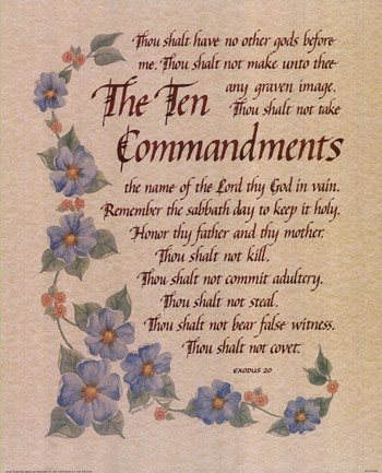 The Ten Commandments Of Christian Hookup