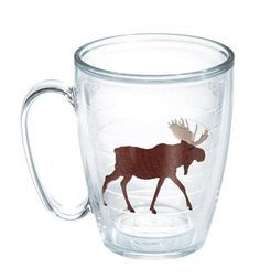 Features:  -Great Outdoors collection.  -Double-walled insulated drinkware.  -Made in the USA.  Country of Manufacture: -United States.  Product Type: -Coffee mug.  Color: -Clear.  Style: -Contemporar