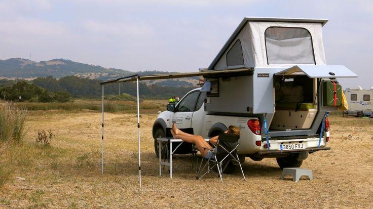 Biwak Uro Camper Pickup Truck Camping Pinterest Cabin