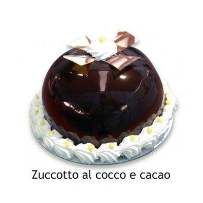 a.c: Zuccotto al cocco e cacao