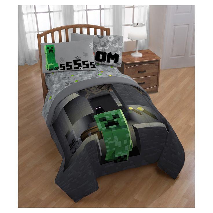 Die besten 25+ Minecraft comforter Ideen auf Pinterest Minecraft - minecraft schlafzimmer modern