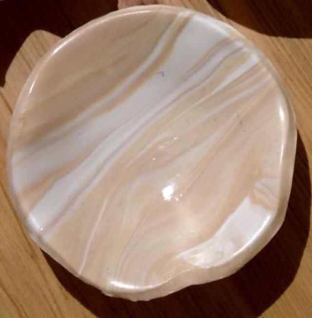 Diy fimo clay bowl