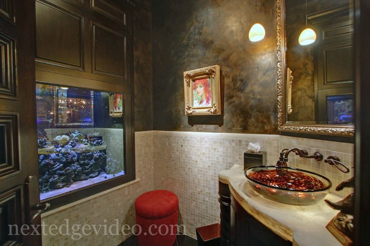 81 best images about luxury real estate on pinterest for Luxury fish tanks