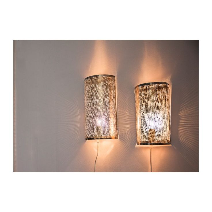 Vägglampett mässing, Dardarkum - Belysning   SPITI - Skön inredning - Marockansk orientalisk indisk fransk provence