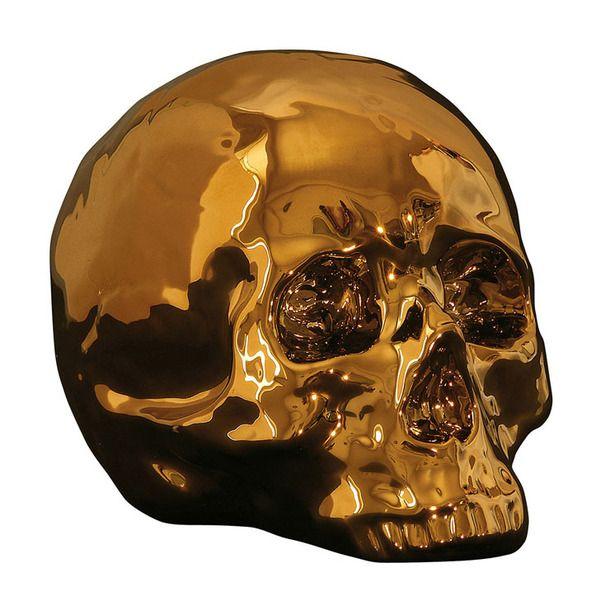 Alas Poor Yorick My Skull Gold Schadel Wolle Kaufen Wohnung