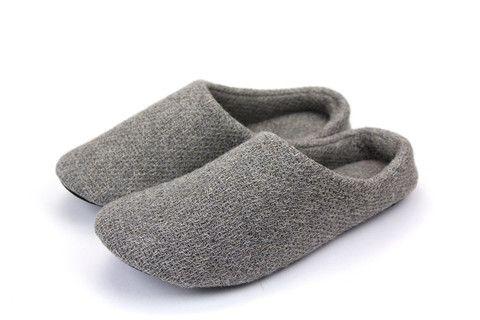 Lana Room Shoes, Grey