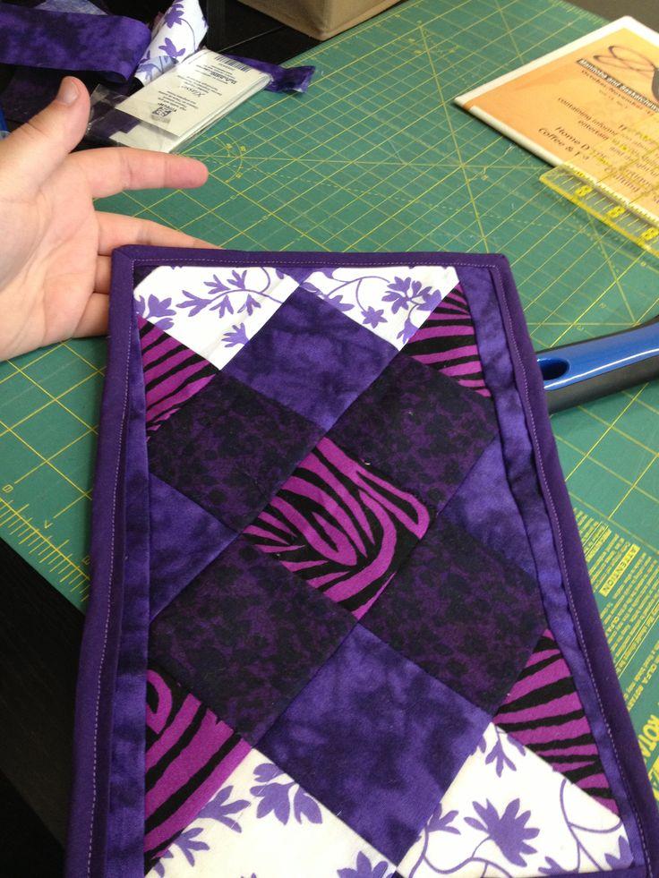 purple wallet (outside)
