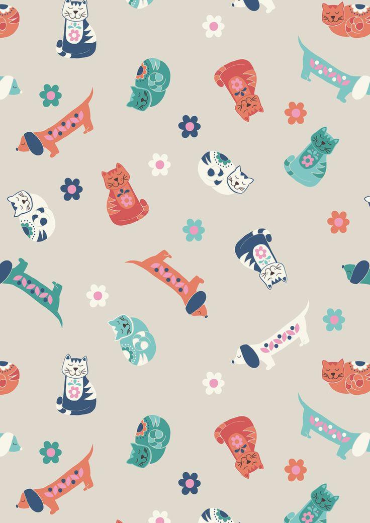 Sam & Mitzi on Linen from Lewis & Irene and Juberry Fabrics