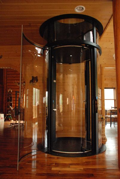 Home Elevators | Elevator: Residential Glass Elevator Design, Round Glass  Elevator . Part 17