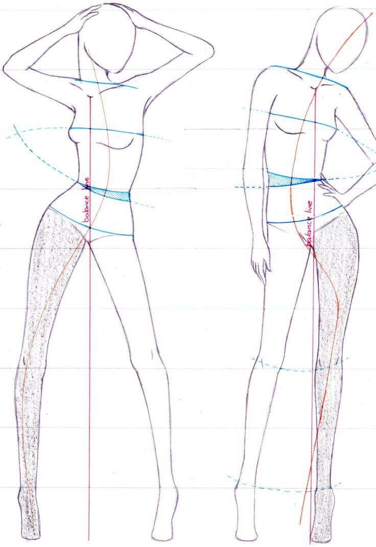 It's just a graphic of Obsessed Fashion Poses Drawing
