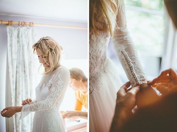 In an English Country Garden - Holly and Christian's Wedding by David McClelland