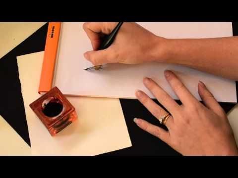 Calligraphy Tutorial | Getting Started with Calligraphy Supplies