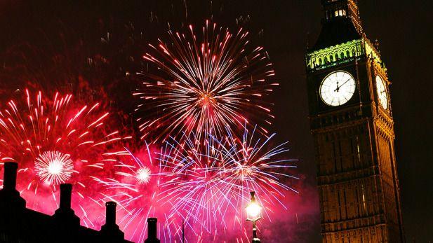 Bonfire Night in London 2015 - Firework displays