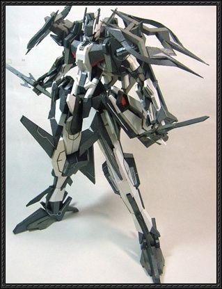 Dark Shadow Full Pack Free Gundam Paper Model Download - http://www.papercraftsquare.com/dark-shadow-full-pack-free-gundam-paper-model-download.html