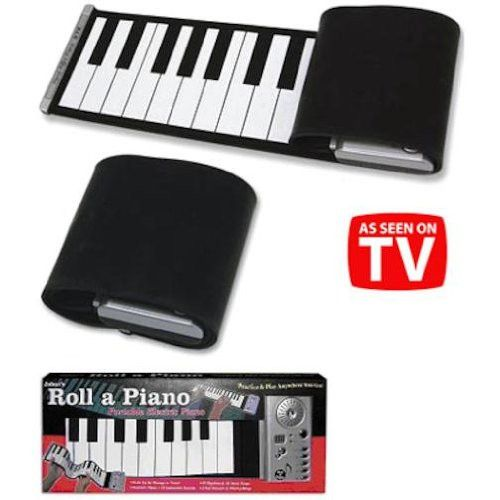 Portable Roll-up Electric Piano Keyboard