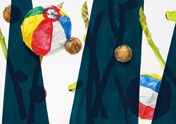 美術への確実な一歩に 芸大・美大受験総合予備校  新宿美術学院  学生作品 2012年度 デザイン・工芸科 夜間部