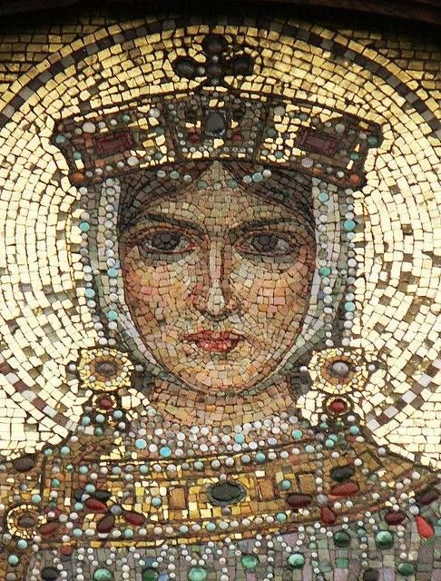 St. Helen Mosaic from the Alexander Nevsky Cathedral, Sofia, Bulgaria                                                                                                                                                      More