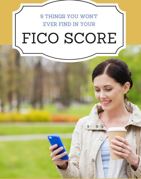 9 Things You Aren't Going to Find in Your FICO Credit Score - http://www.doughroller.net/credit/things-you-wont-find-in-your-fico-credit-score/?utm_campaign=coschedule&utm_source=pinterest&utm_medium=Dough%20Roller&utm_content=9%20Things%20You%20Aren%27t%20Going%20to%20Find%20in%20Your%20FICO%20Credit%20Score