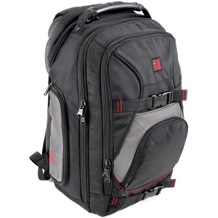FUL Alleyway Black/Titanium Wild Fire Backpack