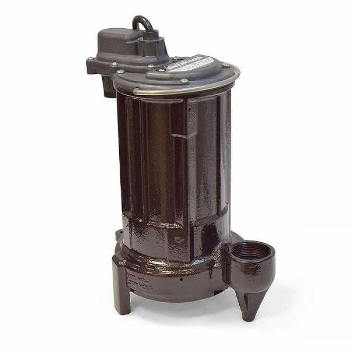 "Liberty Pumps 280-3 1/2 HP Manual Sump / Effluent Pump, 110V ~ 120V, 35"" cord"