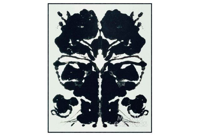 Andy Warhol, Rorschach, 1984
