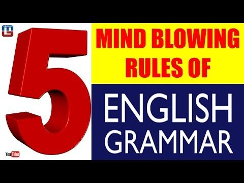 5 MIND BLOWING RULES   ENGLISH GRAMMAR   ALL COMPETITIVE EXAMS - YouTube