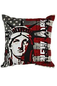 CUSHION :URban  URBAN FLAIR TO YOUR ROOM WITH THIS PRINTEDED CUSHION.