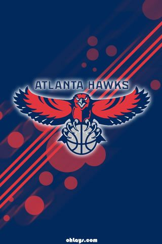 16 best atlanta hawks themes images on pinterest atlanta - Hawk iphone wallpaper ...