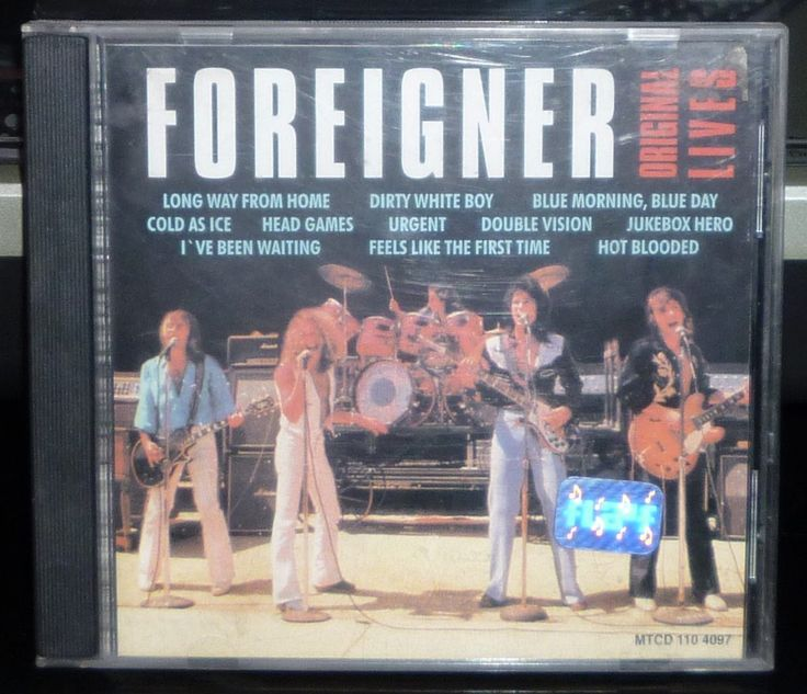 foreigner - original lives - cd brasil