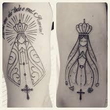 Resultado de imagen de tatuagens nossa senhora