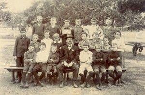Blackstone State School, between 1900 and 1908