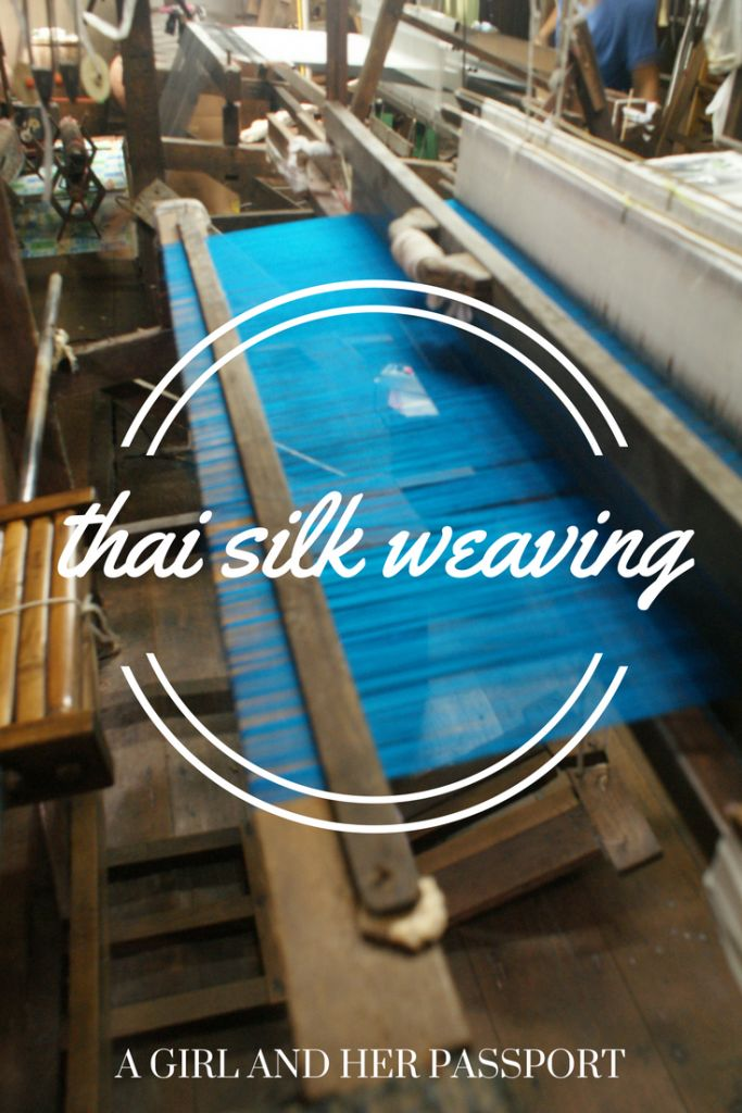 Visit a Thai Silk Weaving house in the heart of Bangkok, Thailand.