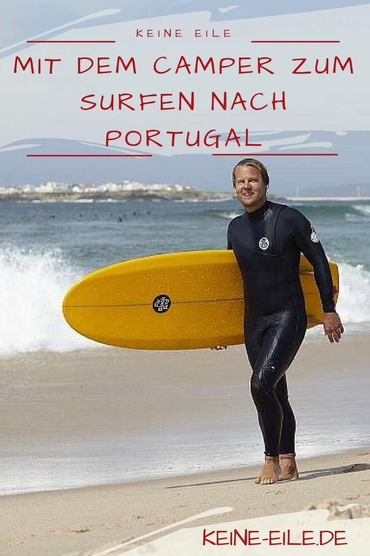 Tipps vom Surfnomaden: Mit dem Camper oder Wohnmobil zum Surfen nach Portugal