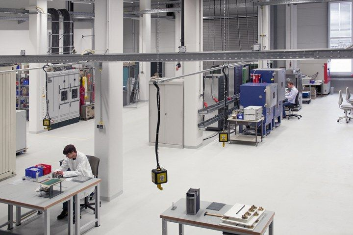 Fraunhofer Institute for Solar Energy Systems Research new battery lab