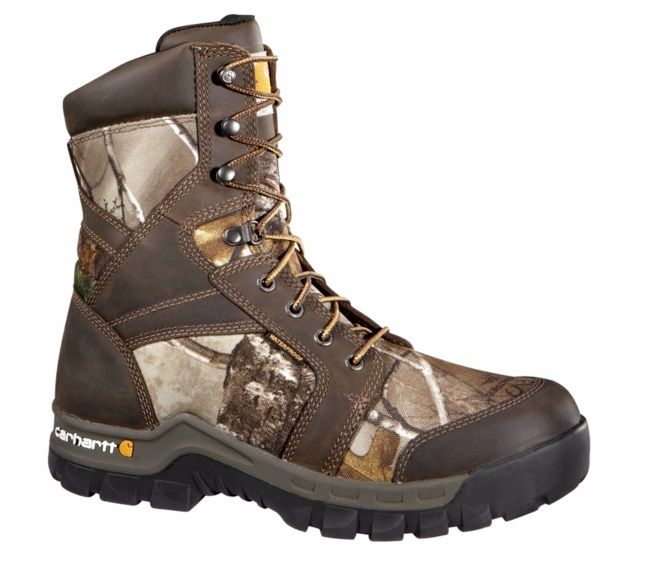 Carhartt Boots Rugged Flex 8-Inch Insulated CMF8379 Men's Composite Toe Boots