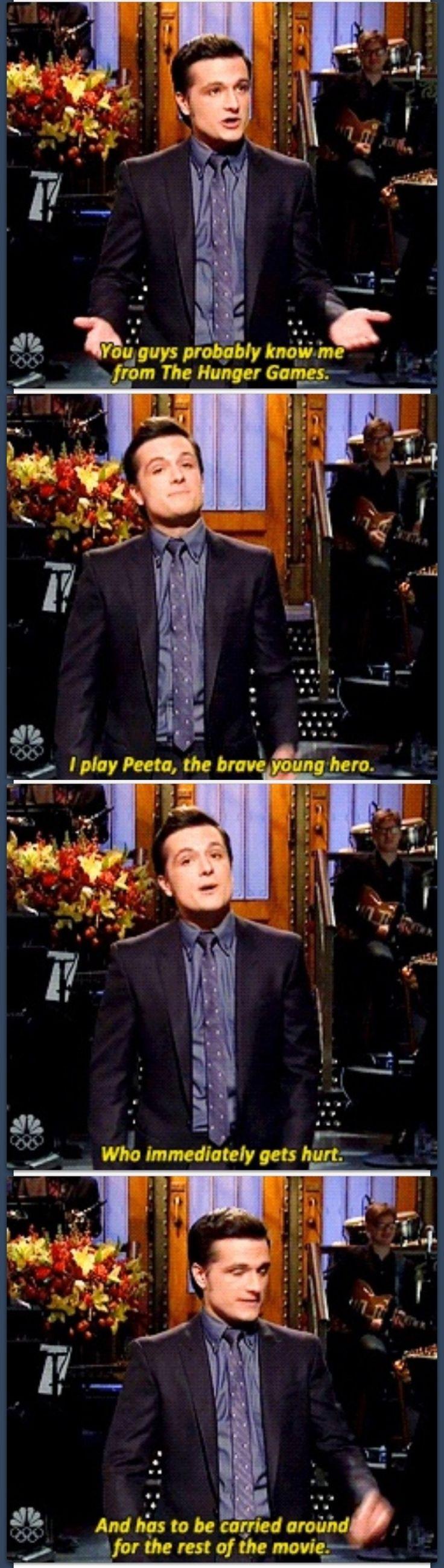 Josh Hutcherson on SNL