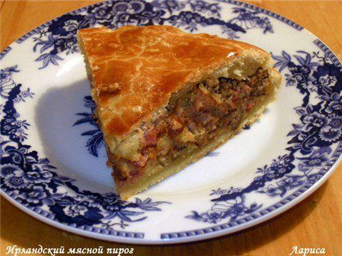 Ирландский мясной пирог. Обсуждение на LiveInternet - Российский Сервис Онлайн-Дневников
