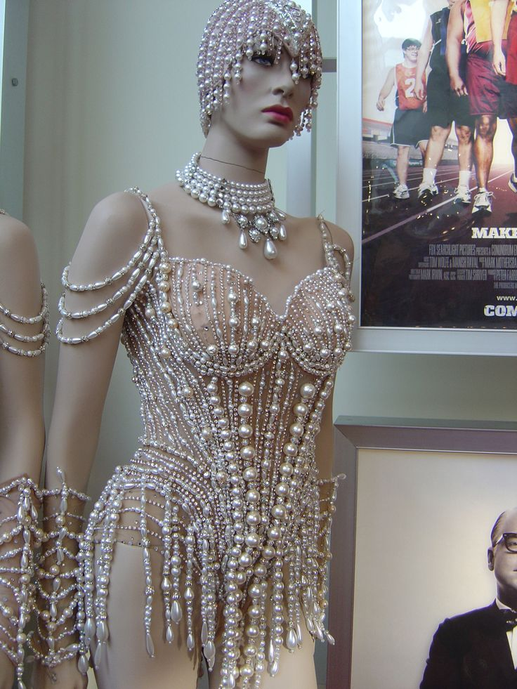 "Costume from the movie ""Burlesque."""
